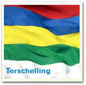 het eiland Terschelling